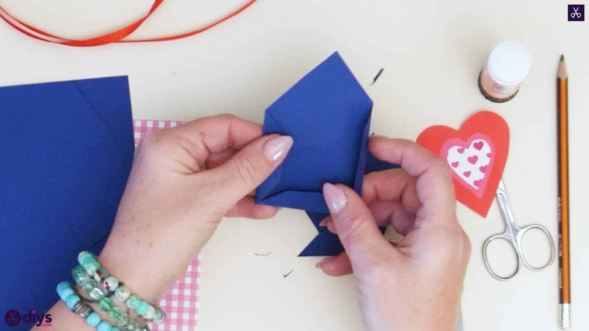 Diy pocketed gift tags step 3a