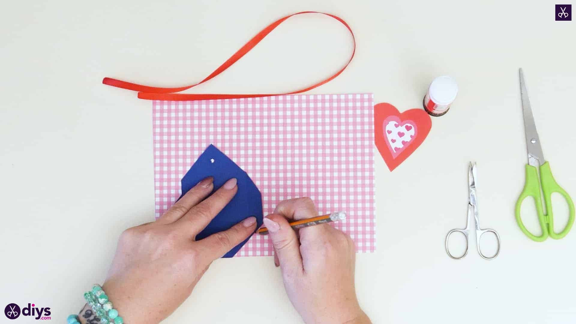 Diy pocketed gift tags step 4