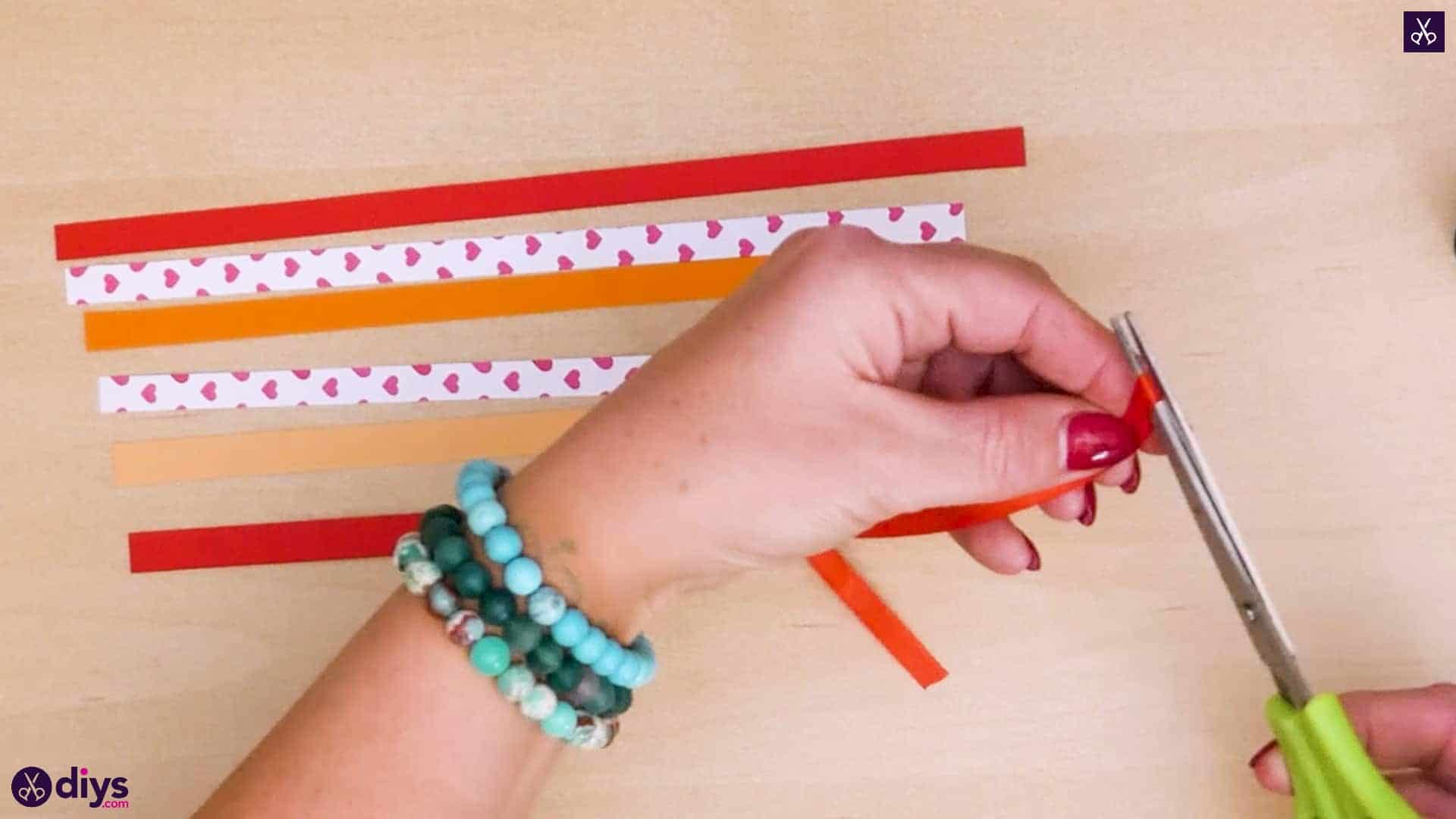 Diy ribbon heart step 4