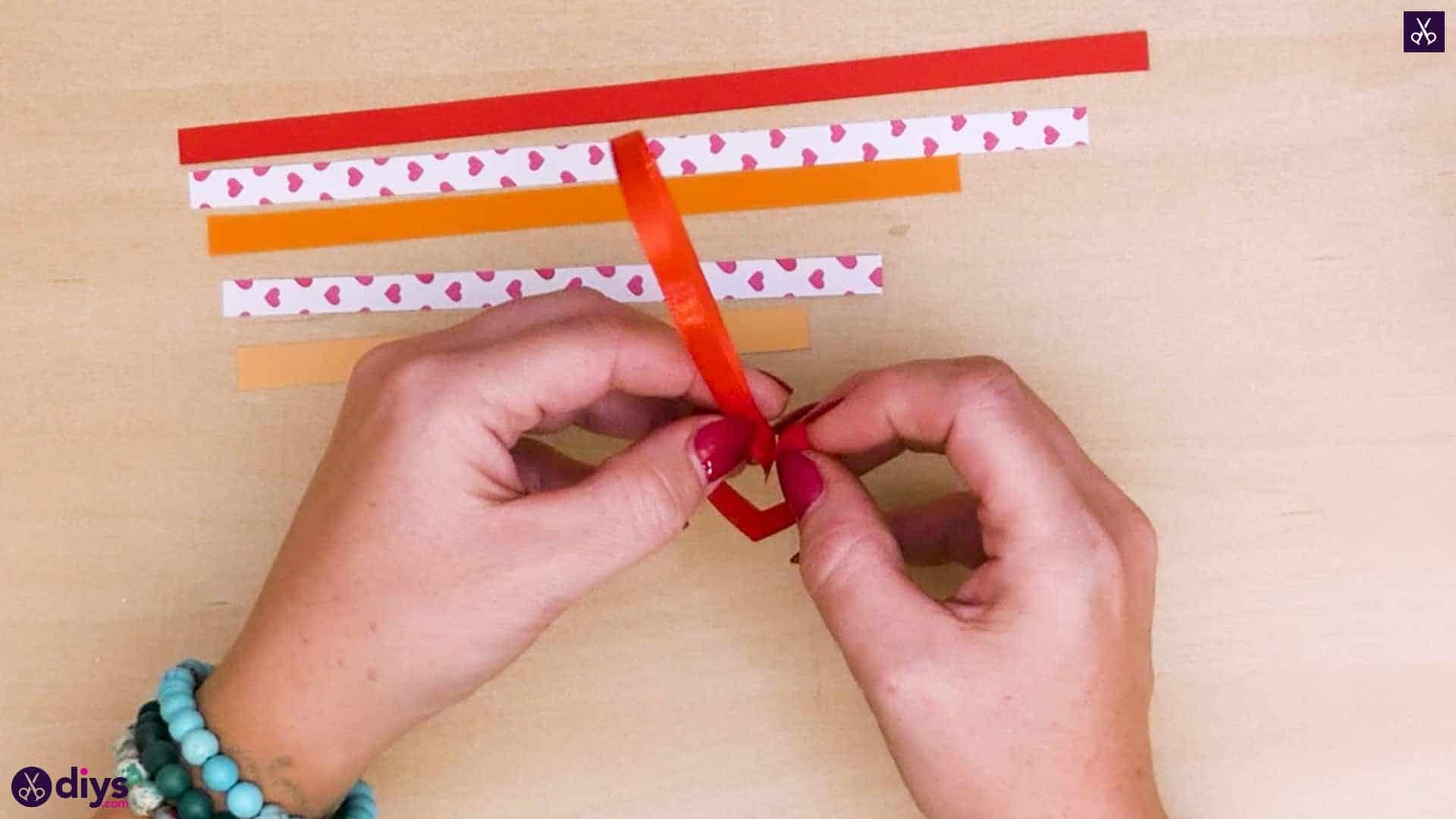 Diy ribbon heart step 5b