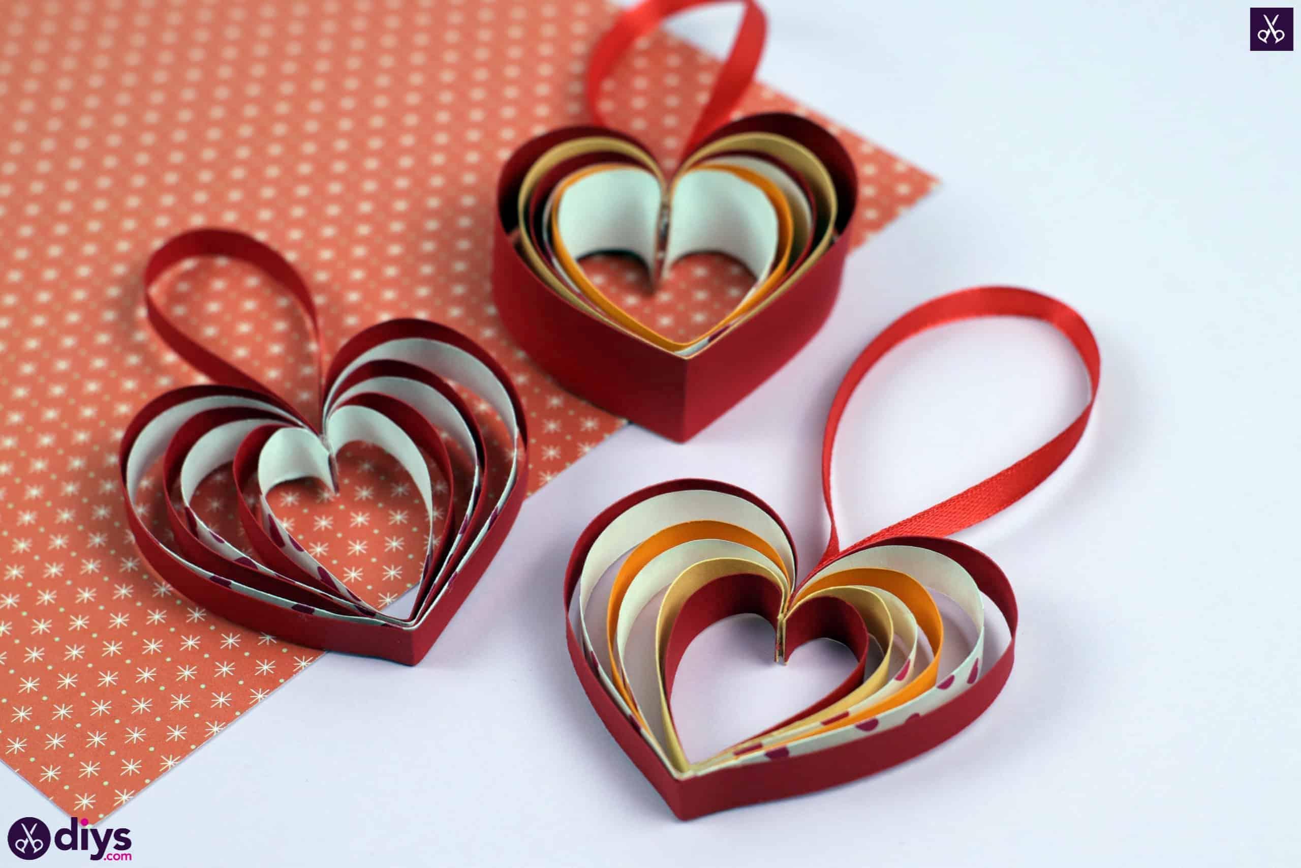 Diy ribbon heart step 9c