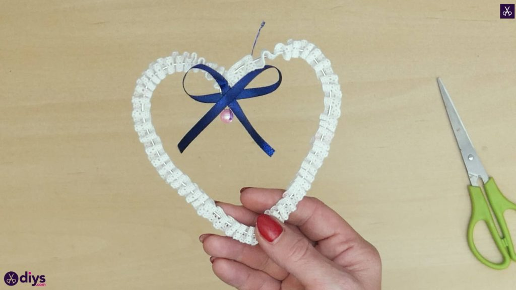 Diy wedding heart decor craft