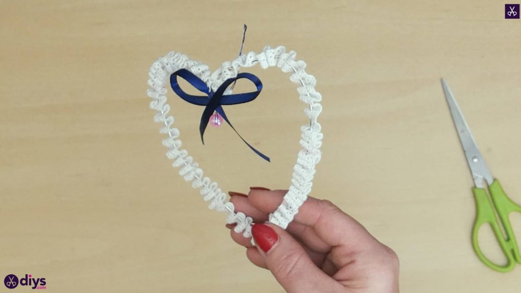 Diy wedding heart decor cute
