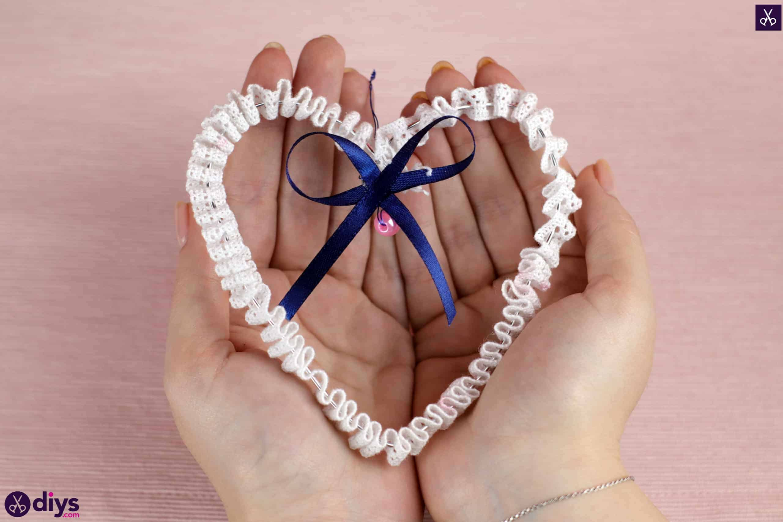 Diy wedding heart decor simple diy