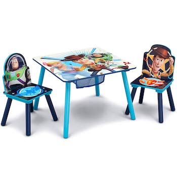 Delta children disney:pixar chair set and table
