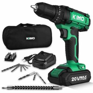 KIMO Cordless Drill Driver Kit