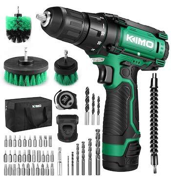 Kimo cordless drill:driver kit