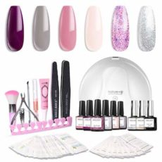 Modelones Gel Nail Polish Kit with UV Light