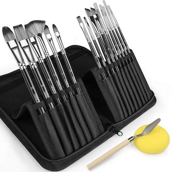 Onson artist paint brush set of 15