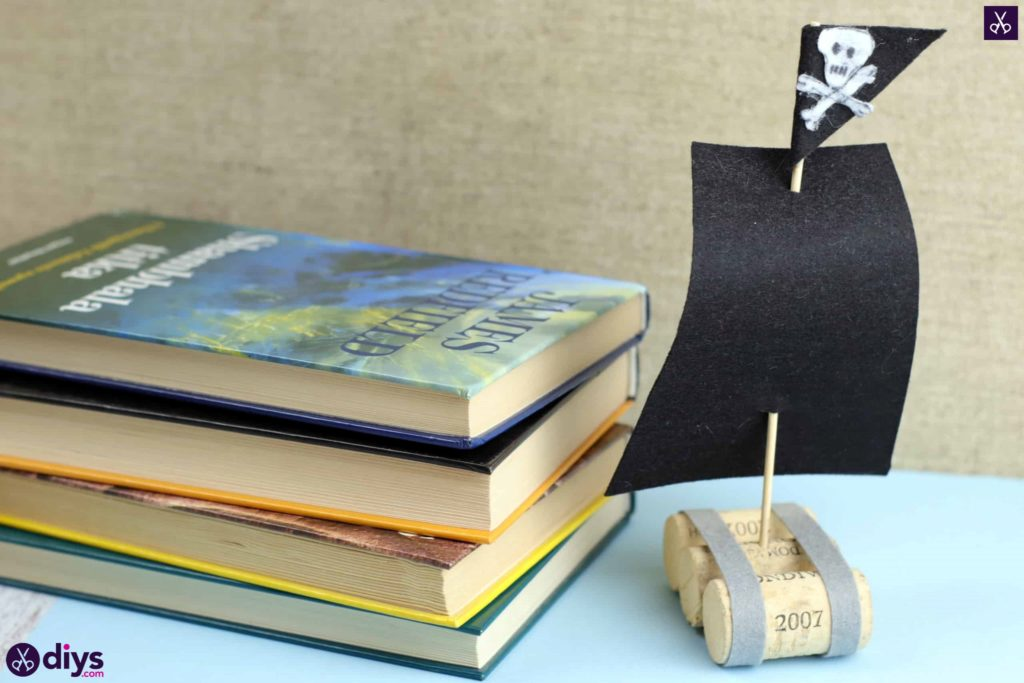 How To Recycle Wine Corks Into a Kids Pirate Ship