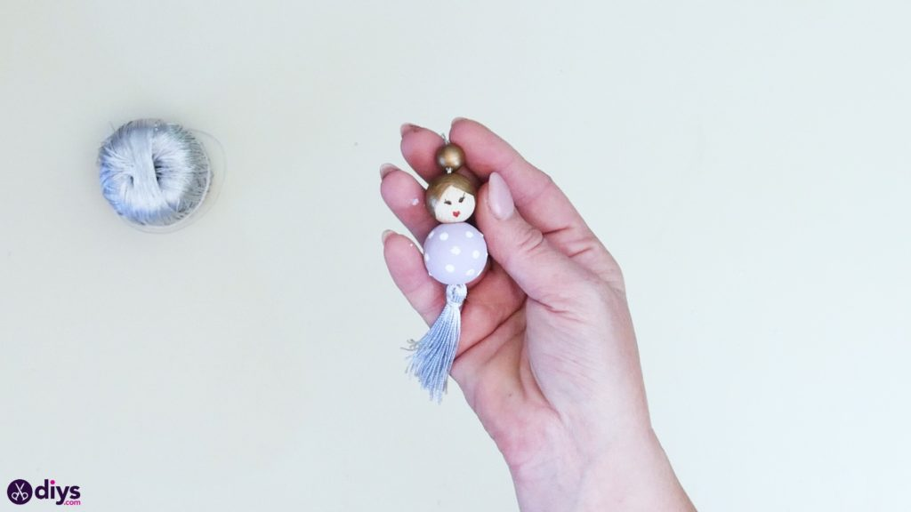 Wooden pearl doll step 6b
