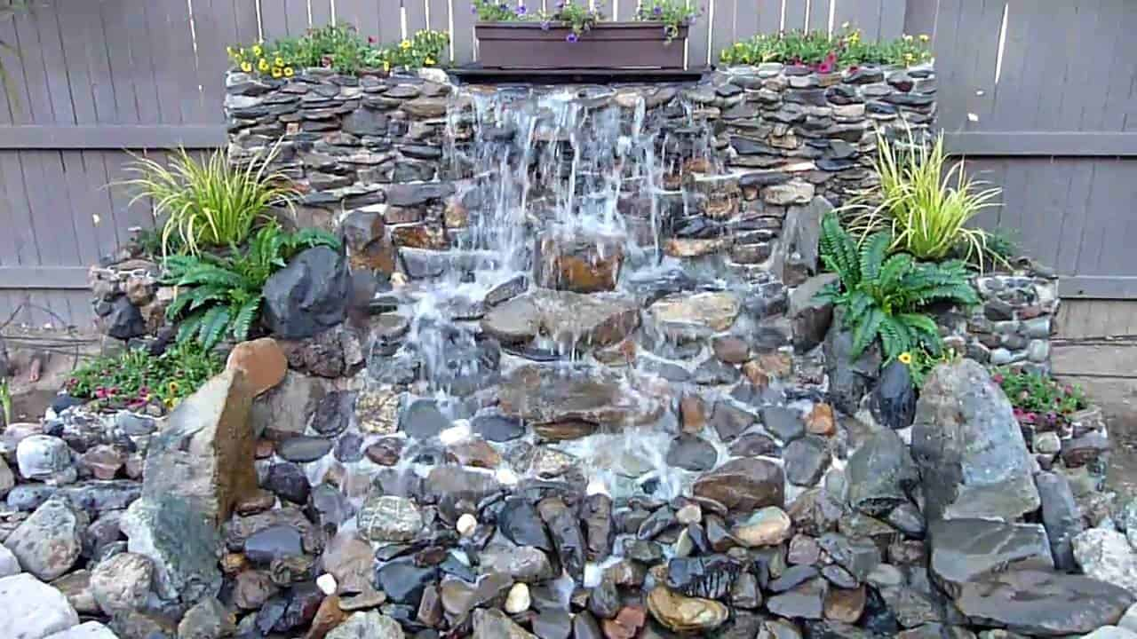 15 Backyard Waterfalls To Try Diy