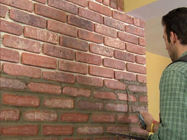 Diy brick veneer installation