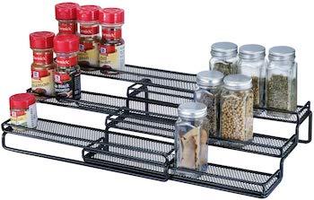 3 tier expandable cabinet spice rack