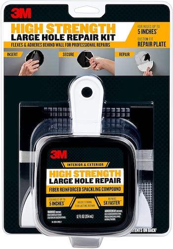 3m high strength large hole repair kit