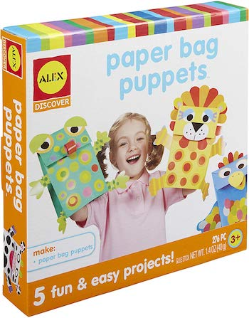Alex toy paper bag doll set