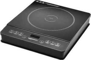 Amazon Basics 1800W portable induction cooktop burner