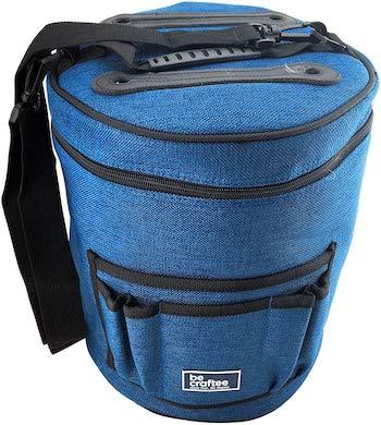 Becraftee cylinder yarn bag