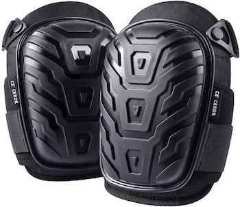 Ce' cerdr professional construction knee pads
