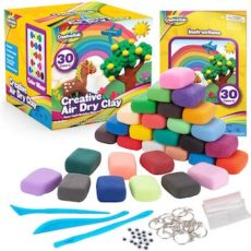 Creative Kids Air Dry Clay Modeling craft kit