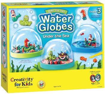 Creativity for kids under the sea water globes kit