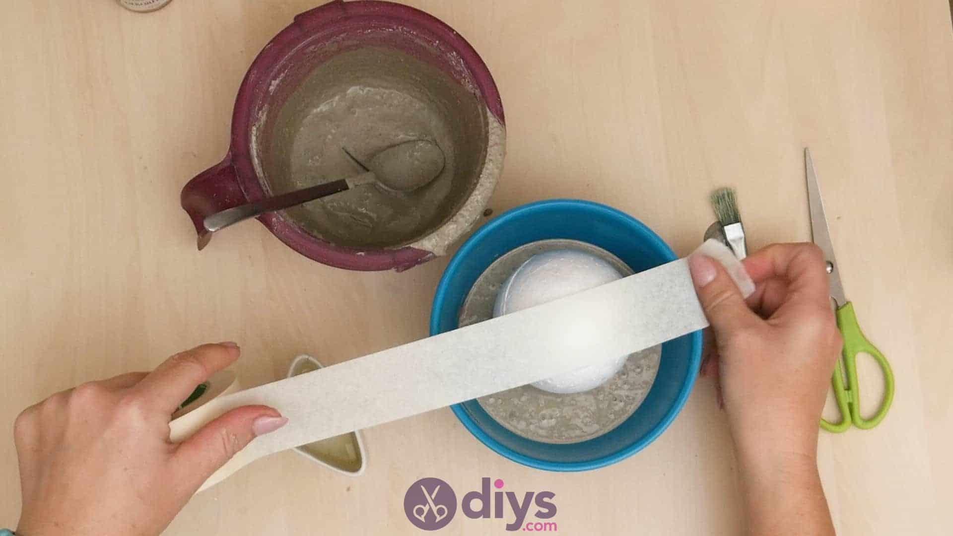 Diy concrete ashtray step 4a