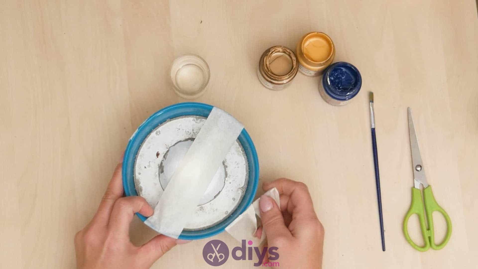 Diy concrete ashtray step 5
