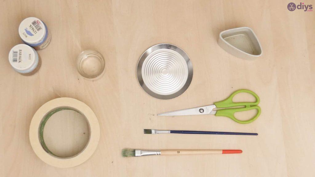 Diy concrete cup holder materials