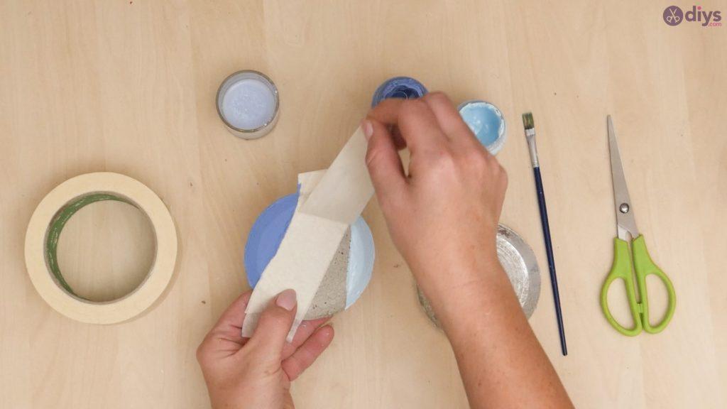 Diy concrete cup holder step 6
