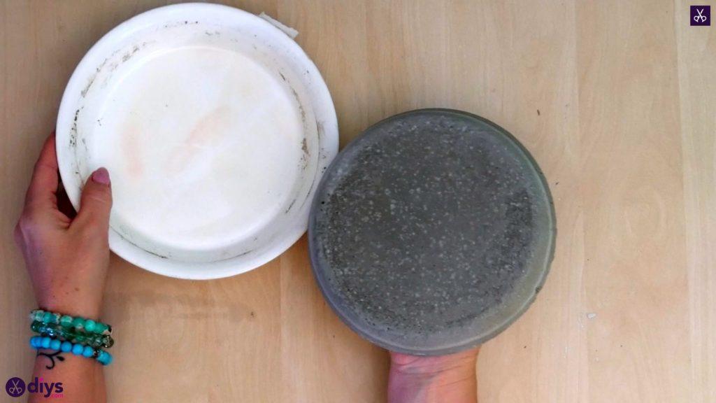 Diy concrete jewelry holder dish step 8a