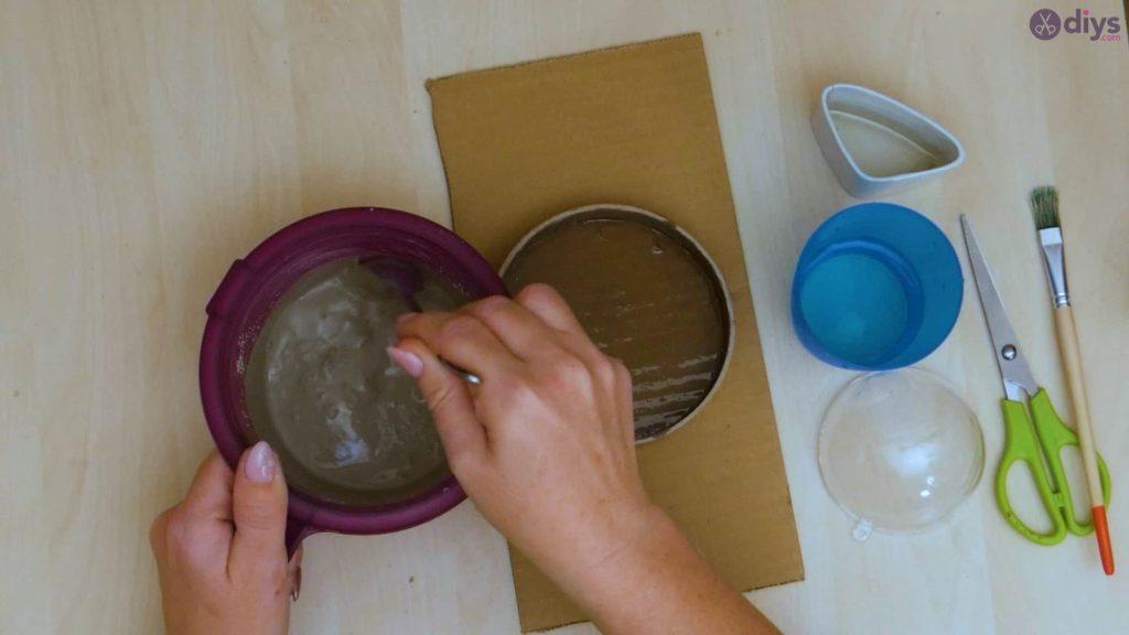 Diy concrete tiny bowl step 5a