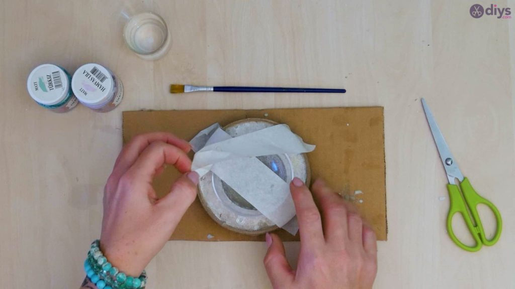 Diy concrete tiny bowl step 8