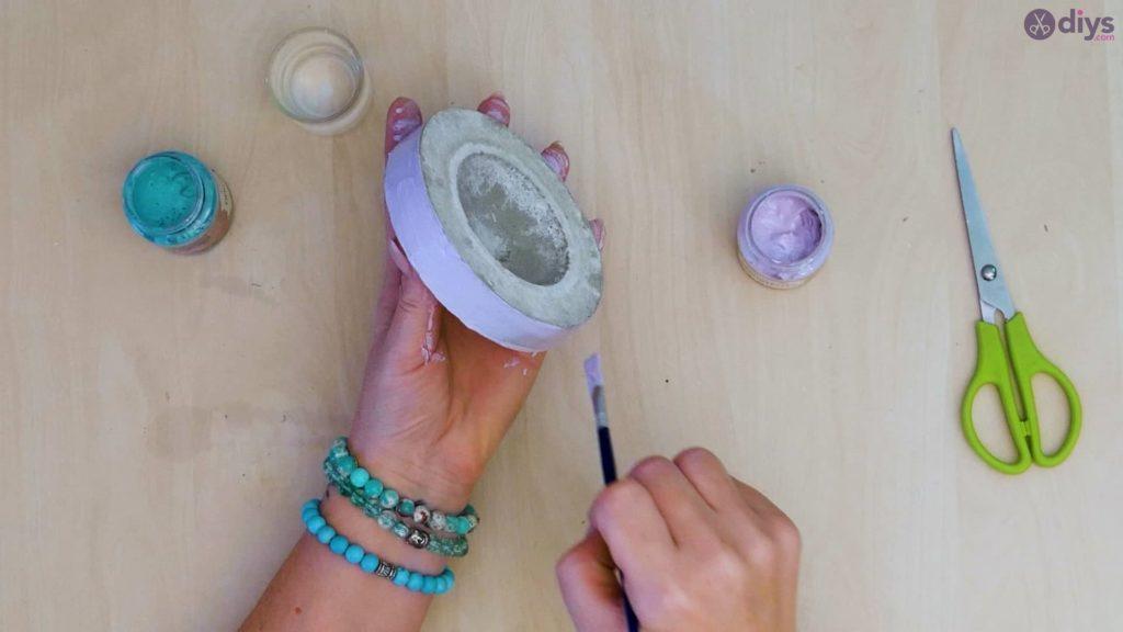 Diy concrete tiny bowl step 9c