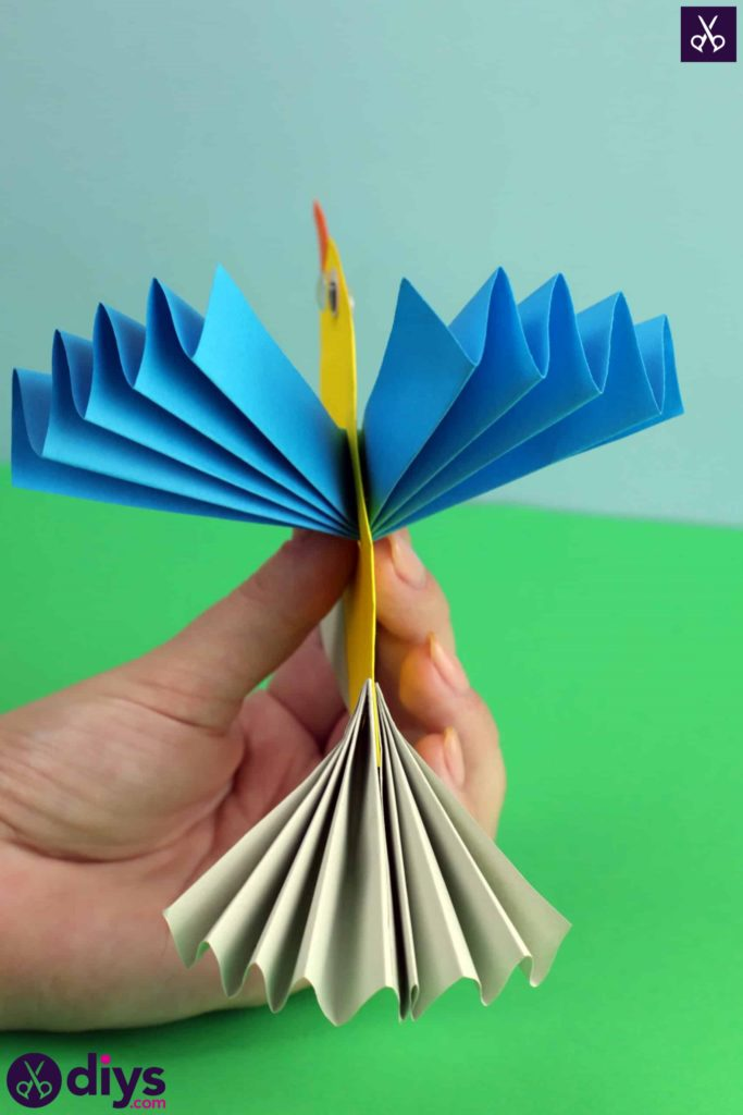 Diy easy paper bird recycle paper