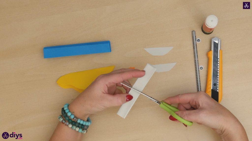 Diy easy paper bird step 8