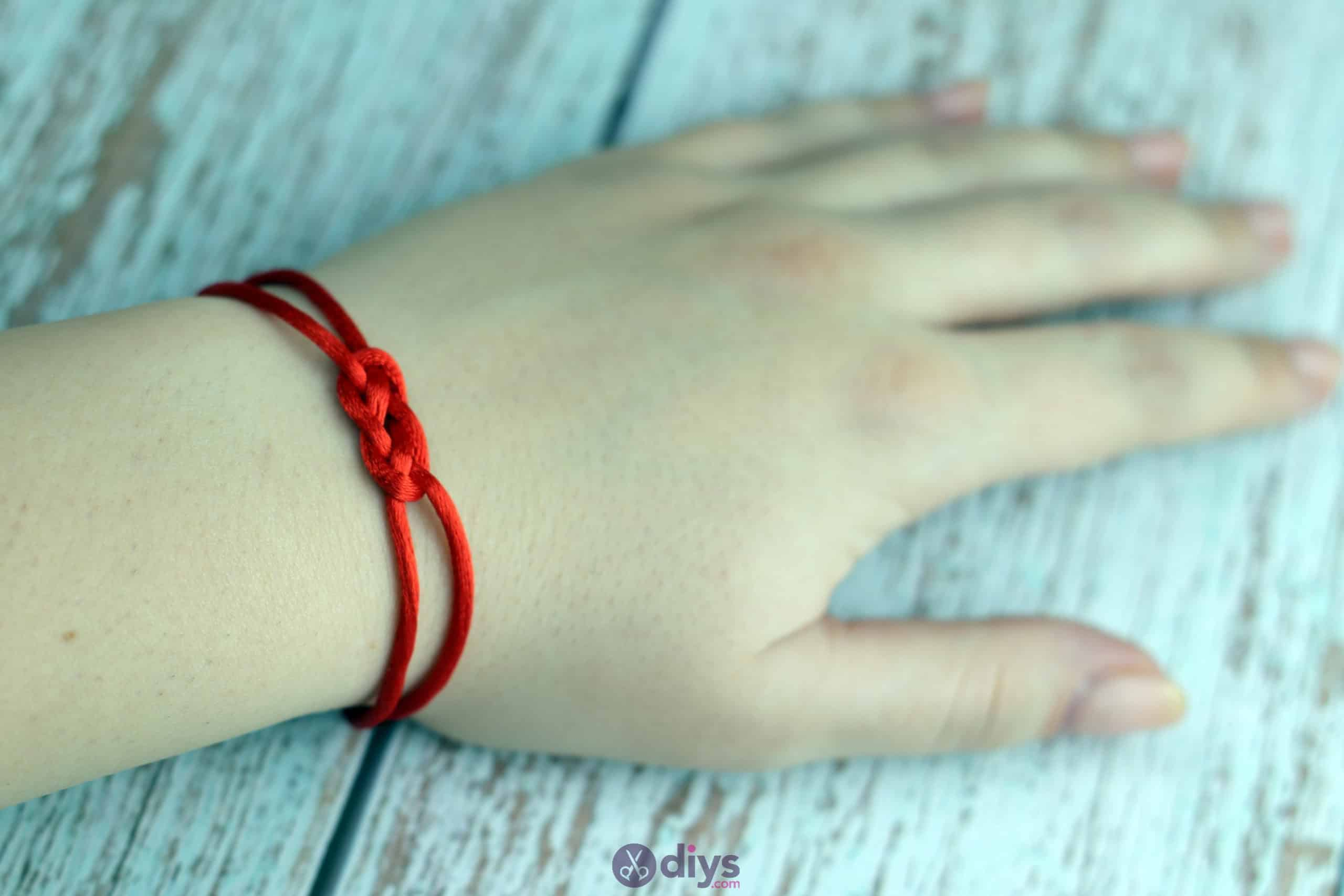 Diy knotted bracelet beautiful