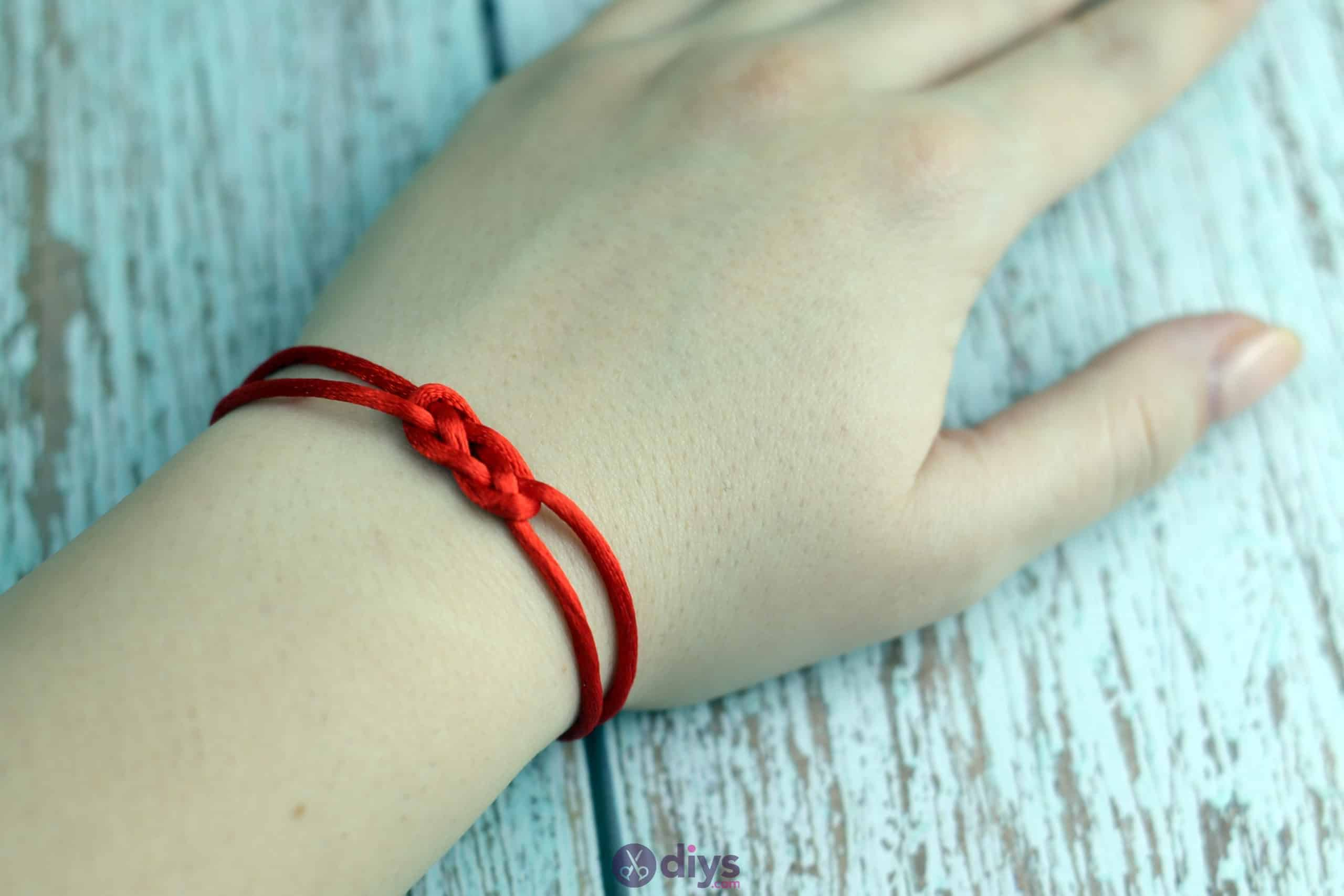 Diy knotted bracelet decor