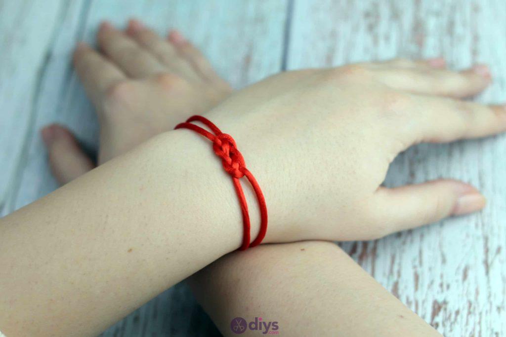 Diy knotted bracelet fashion