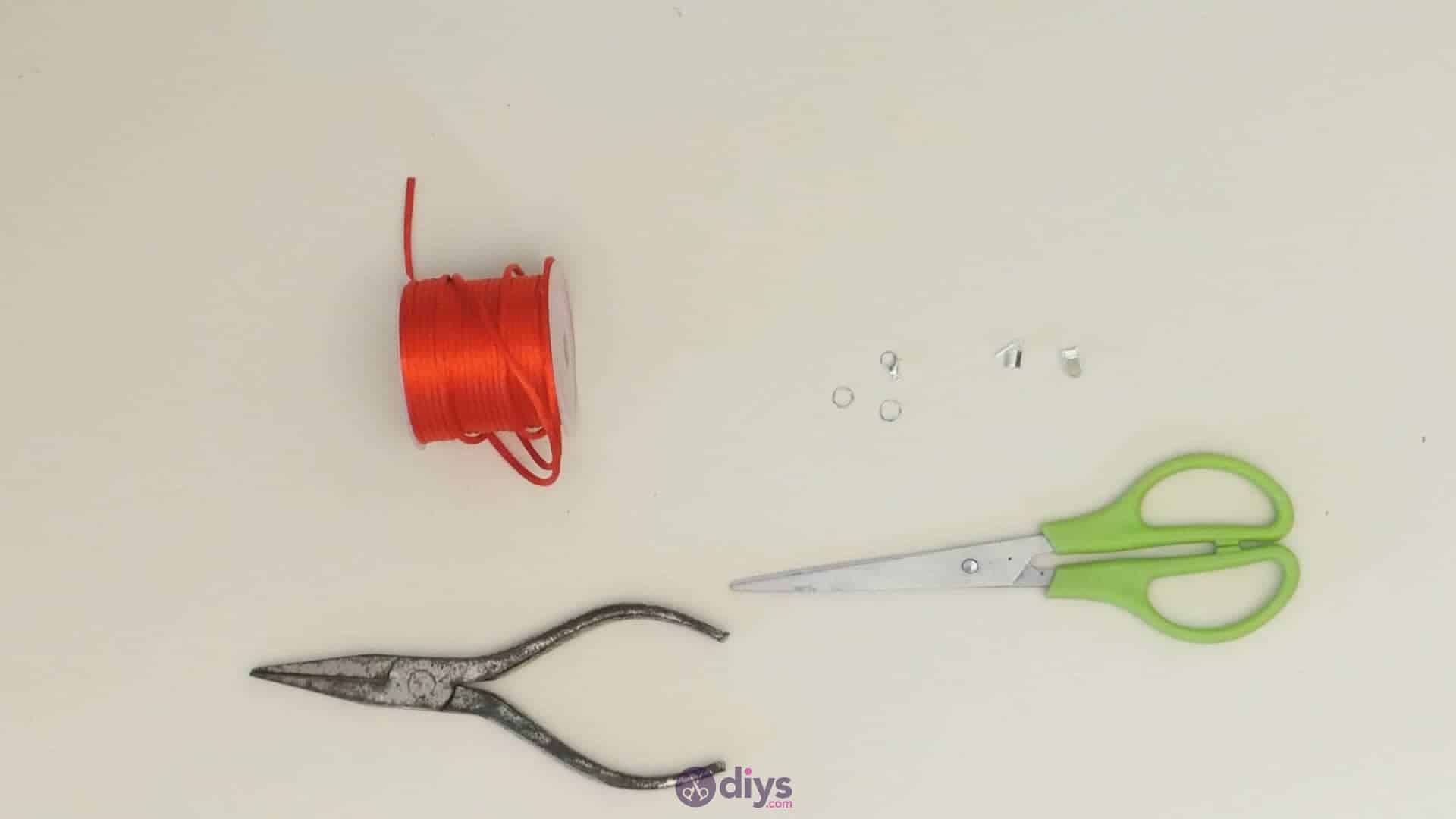 Diy knotted bracelet materials