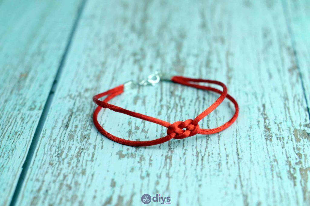 Diy knotted bracelet project