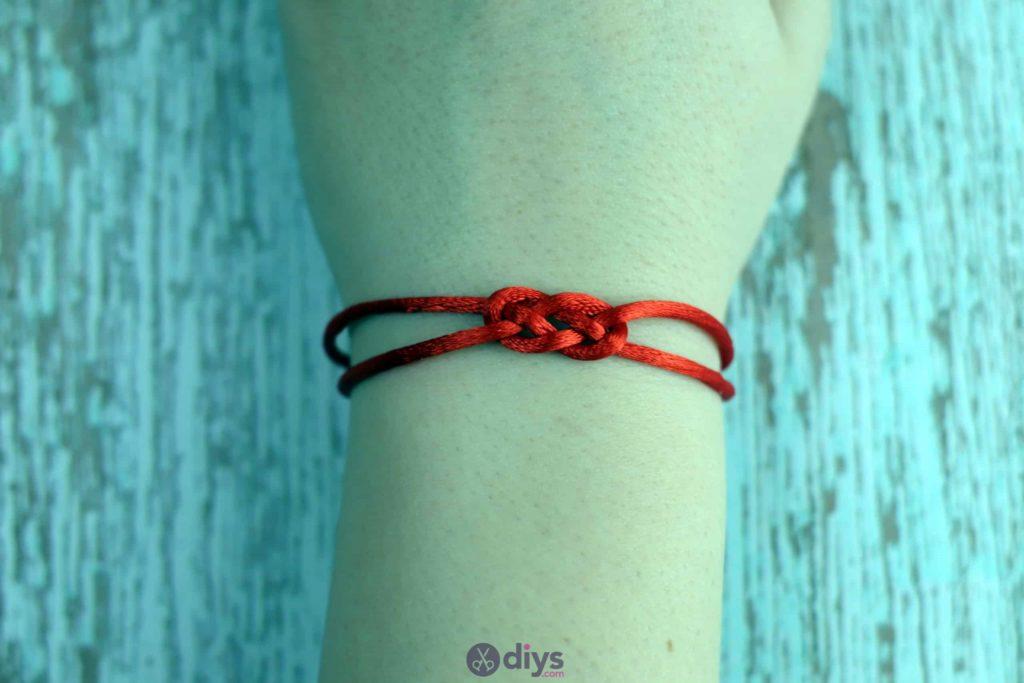 Diy knotted bracelet simple porject