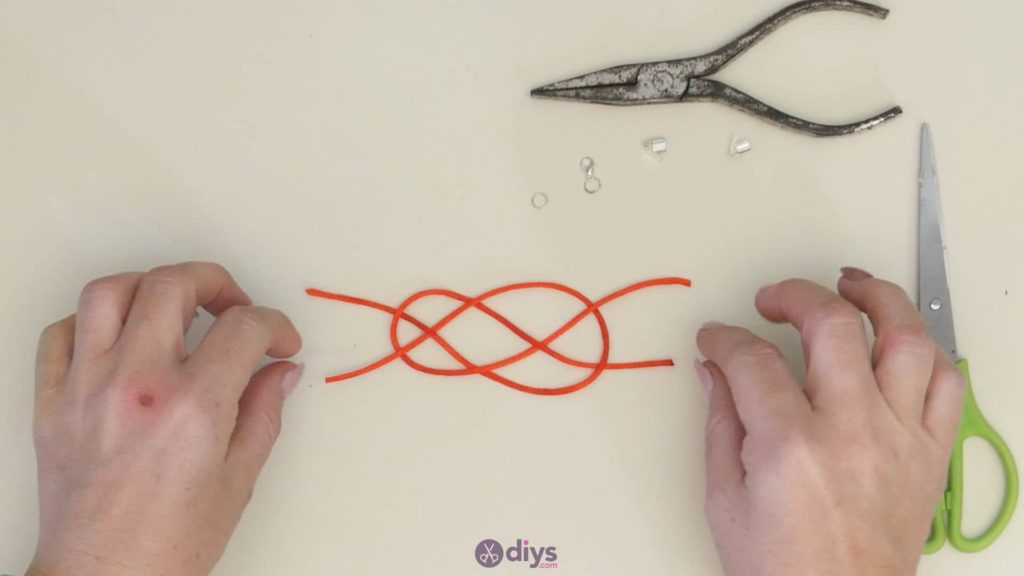Diy knotted bracelet step 3ac