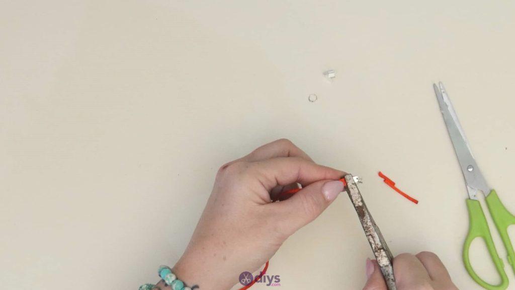 Diy knotted bracelet step 4a