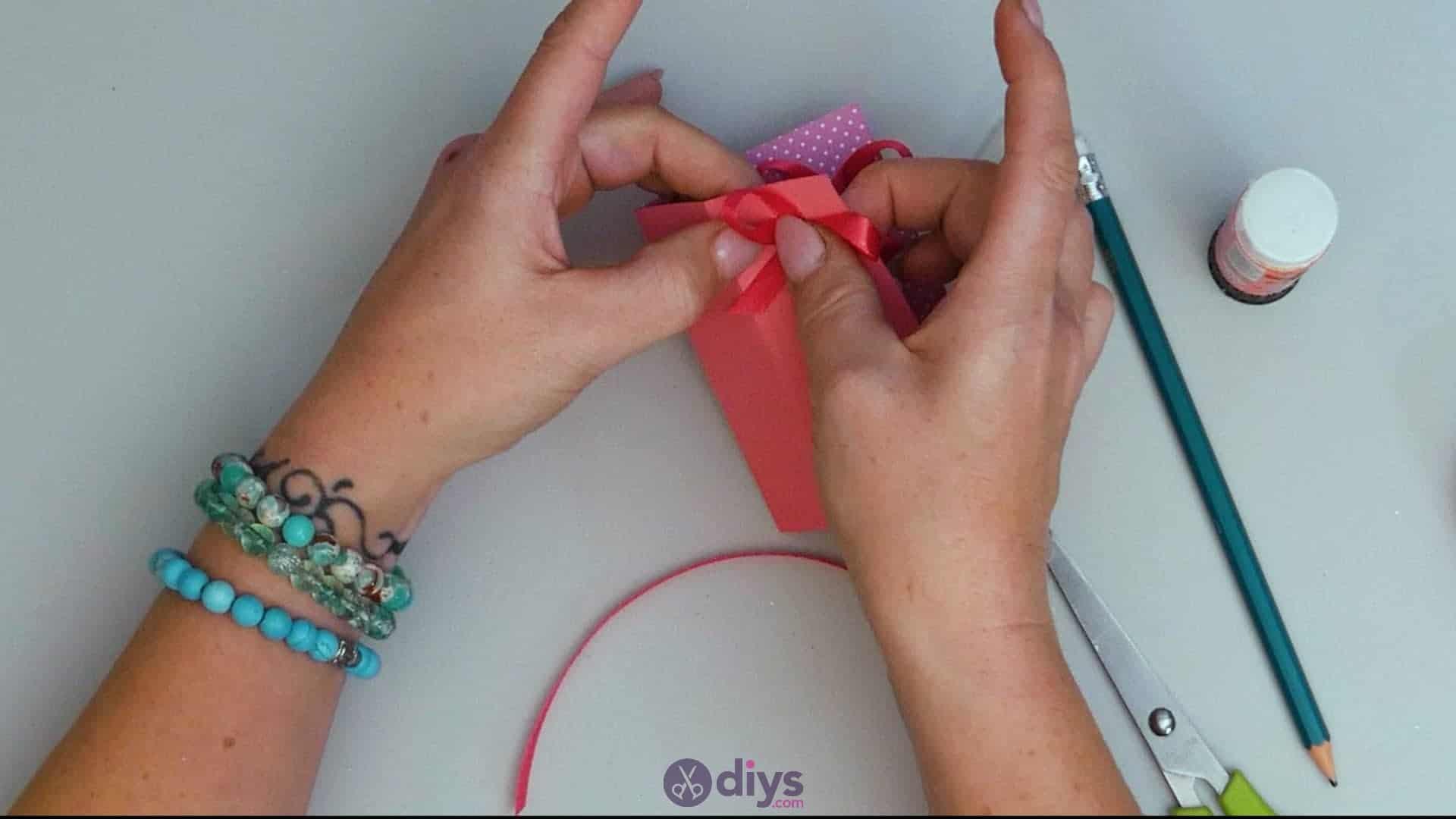 Diy lipstick gift card step 10a