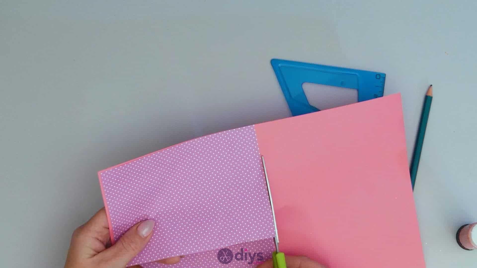 Diy lipstick gift card step 3