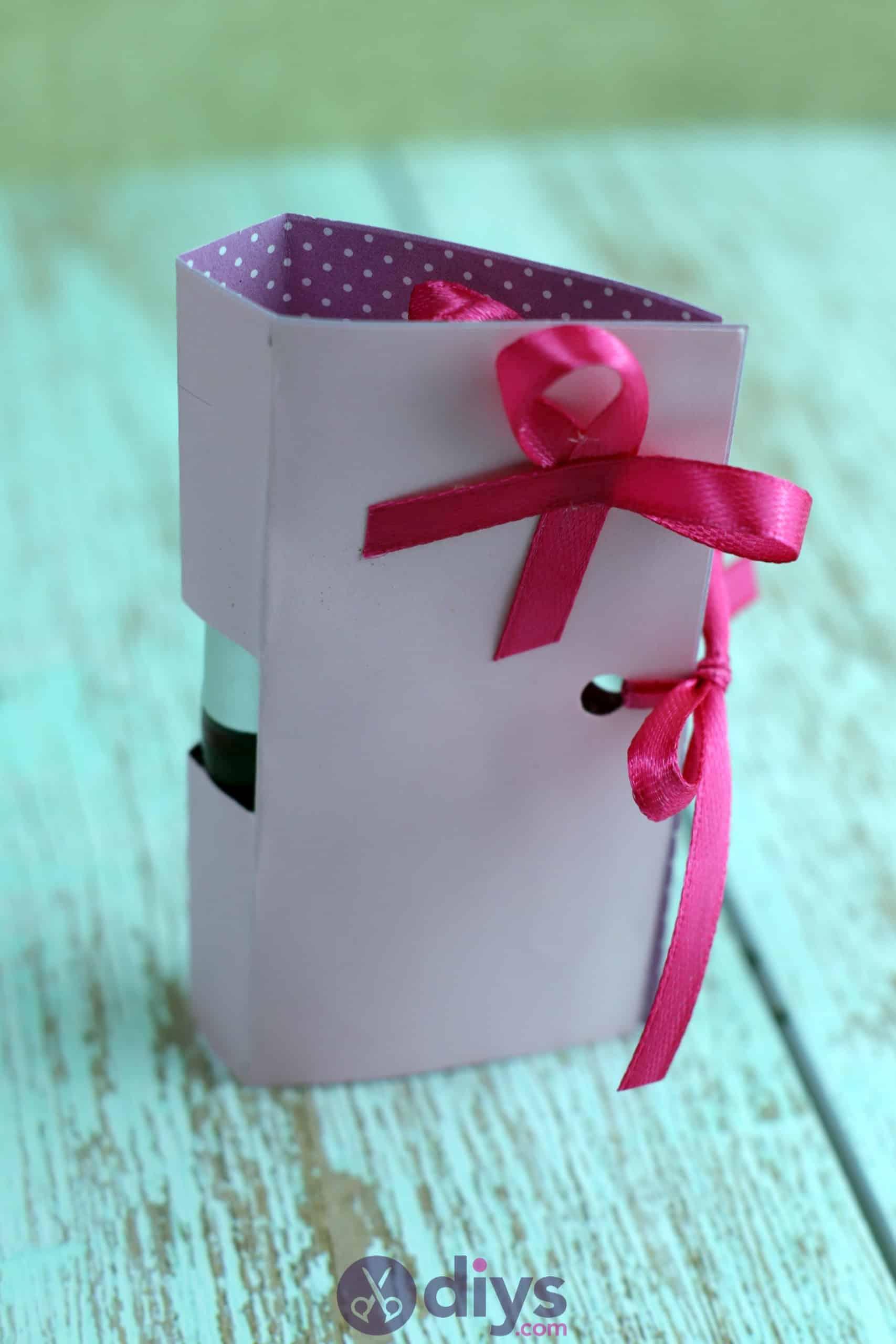 Diy lipstick gift card