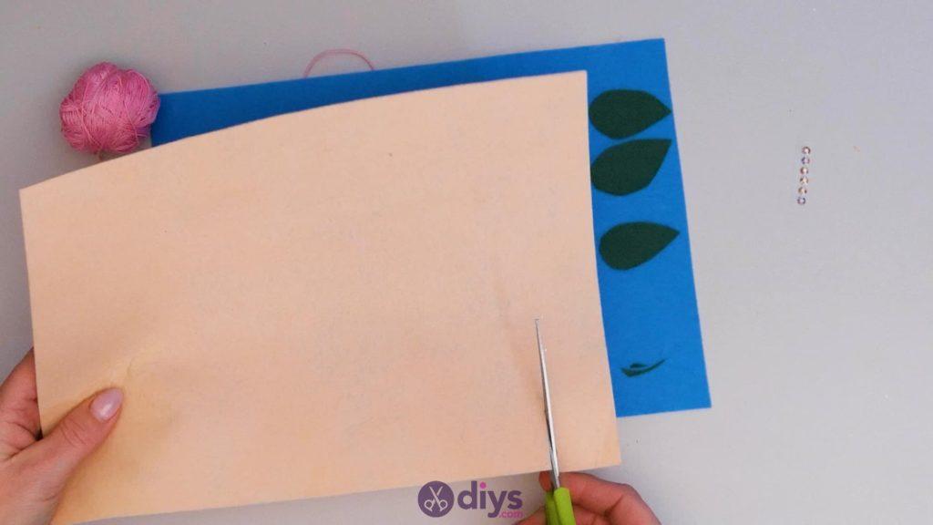 Diy simple felt glasses case step4