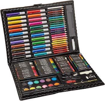 Darice 120 piece deluxe art set