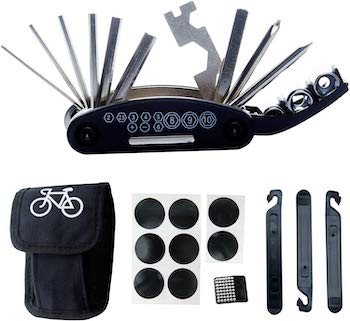 Daway 16 in 1 multifunction bicycle repair tool