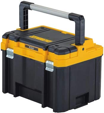 Dewalt deep toolbox with a long handle